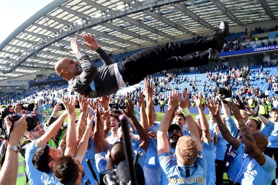 Rekor-Rekor Yang Dipecahkan Man City Usai Jadi Juara Liga Inggris