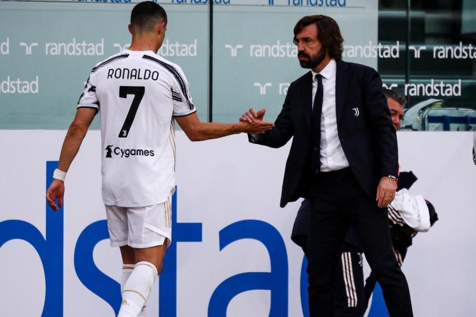 Ronaldo Ditarik Keluar Di Laga Kontra Inter, Pirlo; Dia Senang Diganti