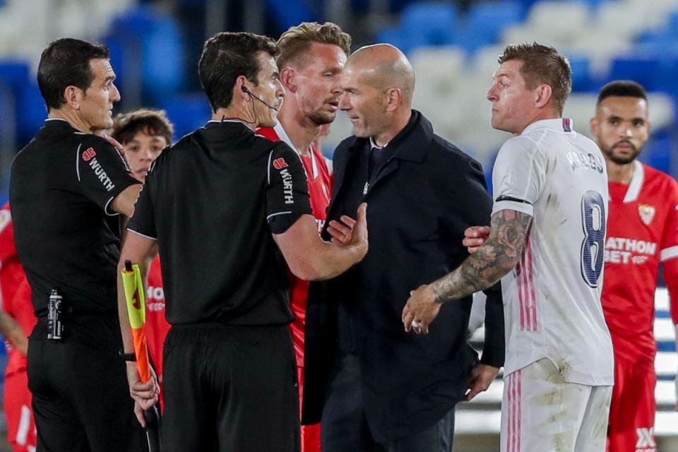 Wasit Tak Beri Penalti, Zidane Saya Sangat Marah!