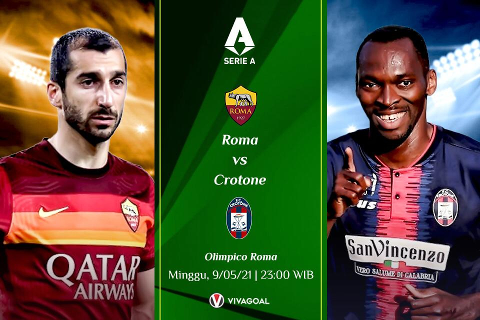 Prediksi AS Roma vs Crotone: Laga Mudah Bagi Serigala Ibukota