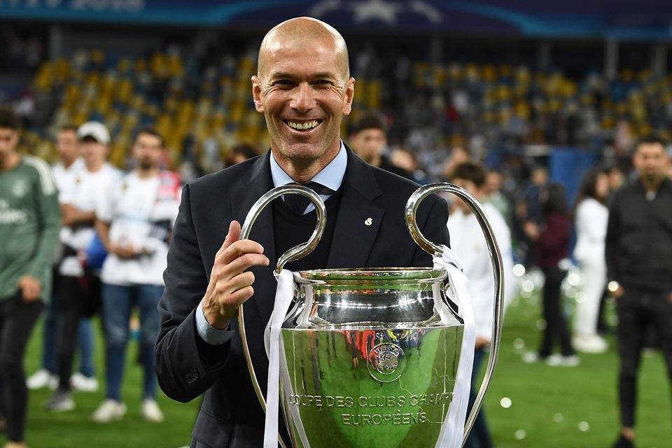 Zidane Tinggalkan Real Madrid dengan Status Pelatih Legendaris