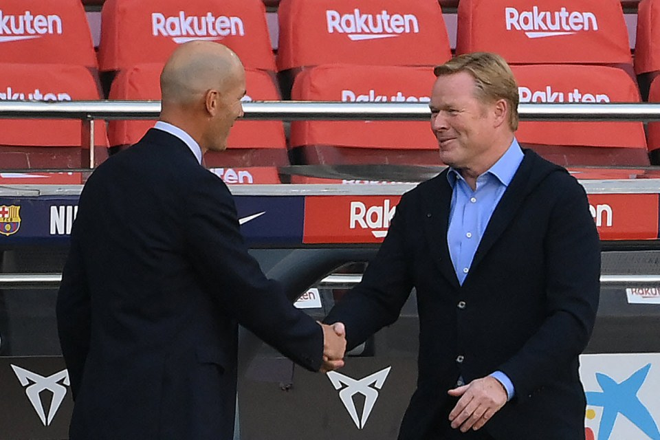 Zidane dan Koeman, Sama-sama Bapuk Sama-sama Bakal Cabut?