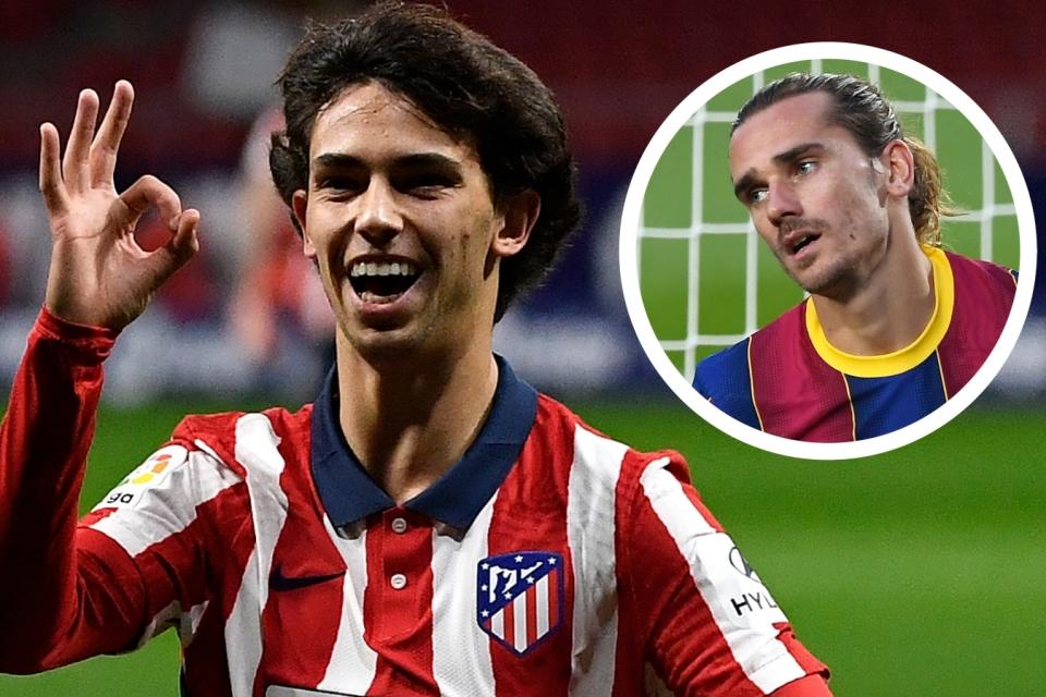 Ada Rencana Pertukaran Griezmann- Joao Felix, Presiden Atletico Madrid Bilang Begini
