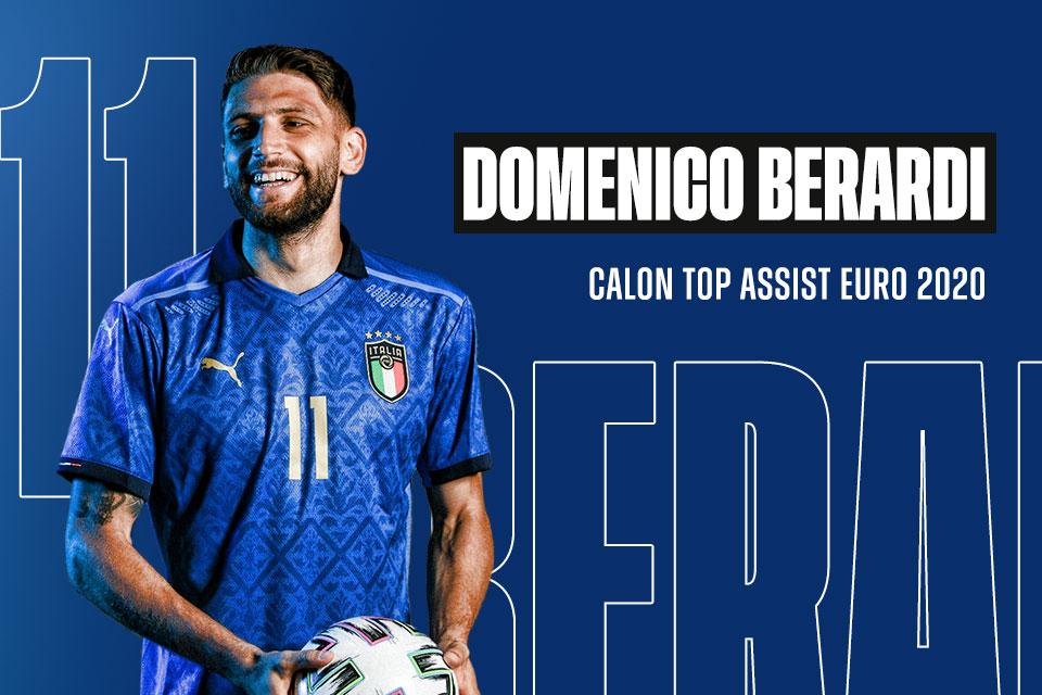 Domenico Berardi, Calon Top Assist Euro 2020