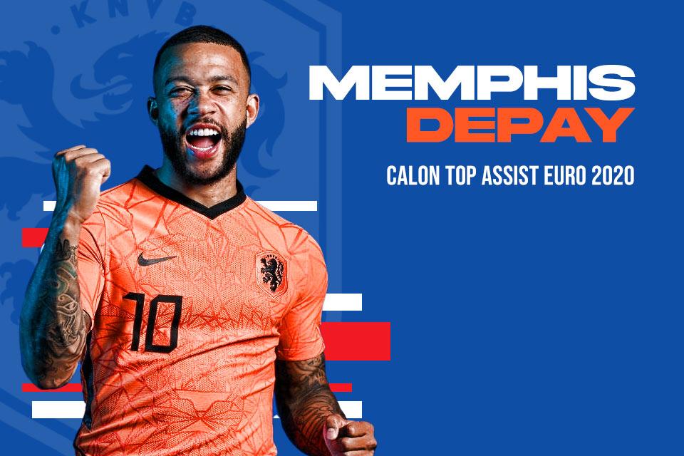 Calon Top Assist Euro 2020: Memphis Depay