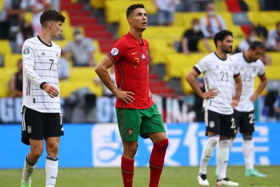 Dibantai Jerman 4-2, Portugal Bikin Rekor Terburuk di Piala Eropa
