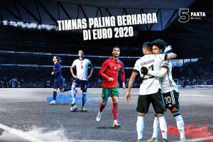 5 Fakta Timnas Paling Berharga di Euro 2020