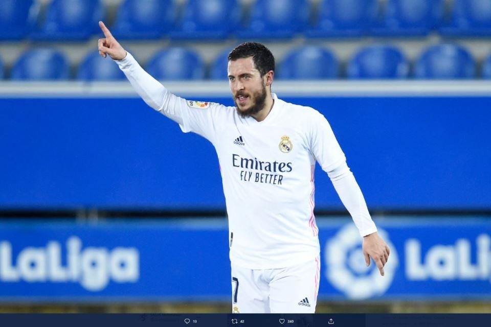 Meredup di Real Madrid, Eden Hazard Ingin Balik ke Tim Lamanya
