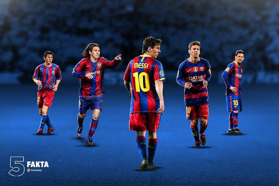 5 Evolusi Lionel Messi, Berubah Untuk Tetap Jadi yang Terbaik