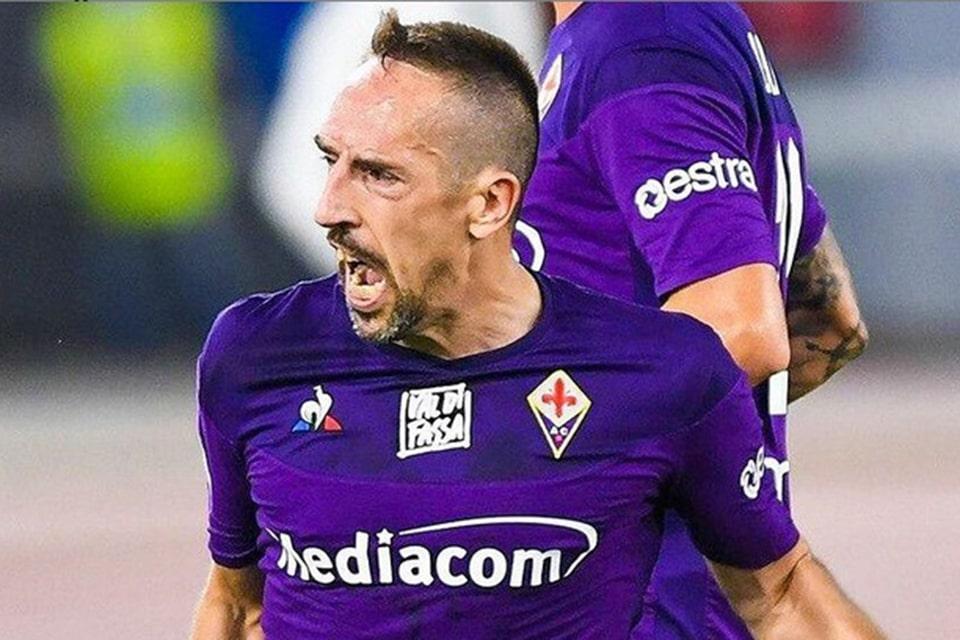 Fiorentina dikabarkan Akhiri Masa Kontrak Franck Ribery Musim Ini