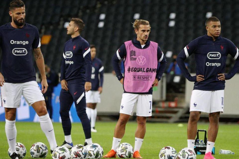 Giroud Kesal Dicuekin Mbappe dan Griezmann di Timnas Prancis