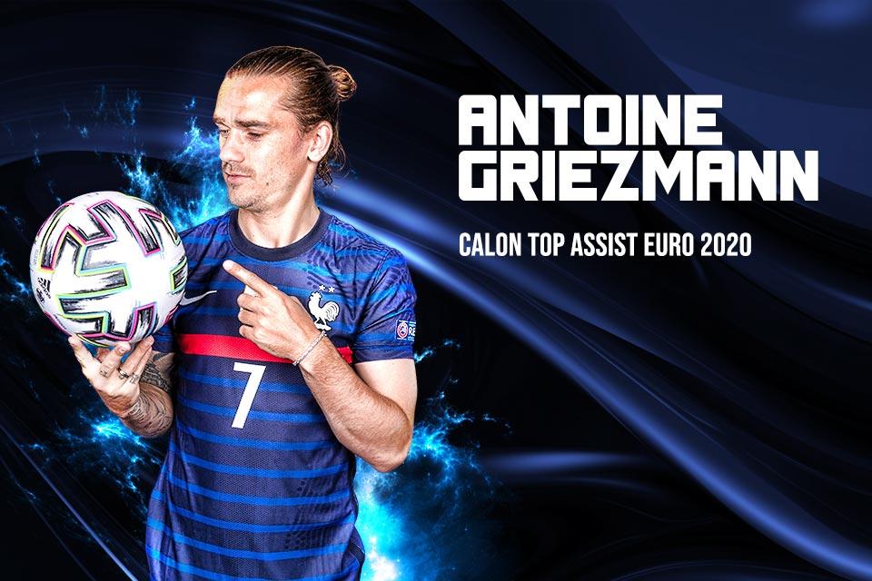 Antoine Griezmann Punya Peluang Jadi Top Assist Euro 2020