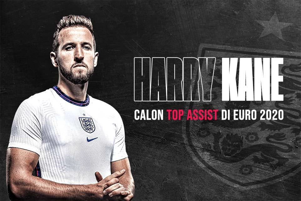 Calon Top Assist Euro 2020: Harry Kane