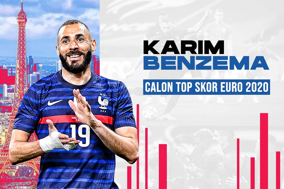 Karim Benzema, Calon Top Skor Euro 2020