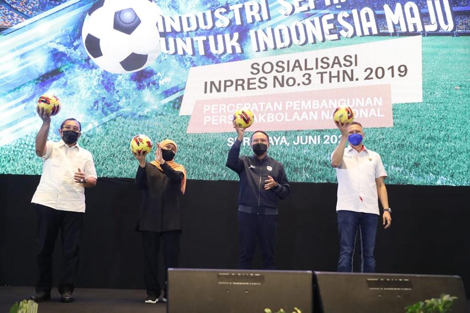 PSSI Usulkan Pembinaan Pemain Muda Sebagai Fokus Inpres no 3 tahun 2019