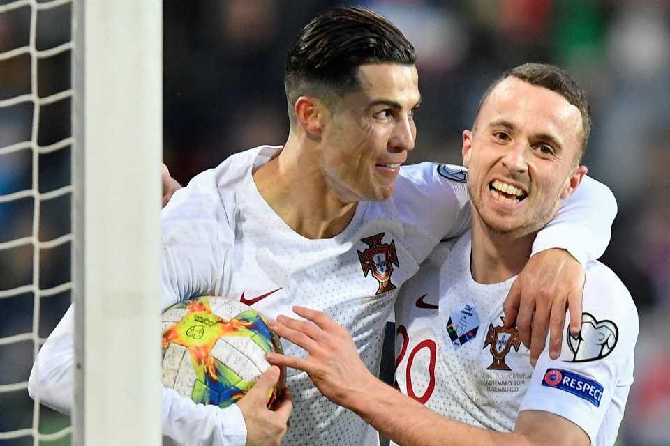 Kena Marah Ronaldo, Diogo Jota: Dia Idola Saya Sejak Kecil