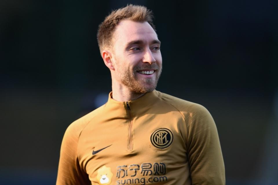 Kondisi gelandang Inter Milan, Christian Eriksen dilaporkan sudah membaik, bahkan sudah bisa tertawa lepas