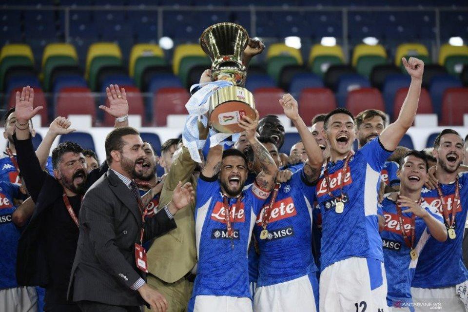 Napoli Bantah Minta Gantikan Juventus di Liga Championss