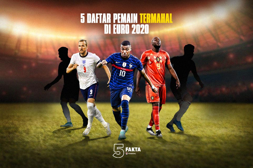 5 Daftar Pemain Termahal di Euro 2020