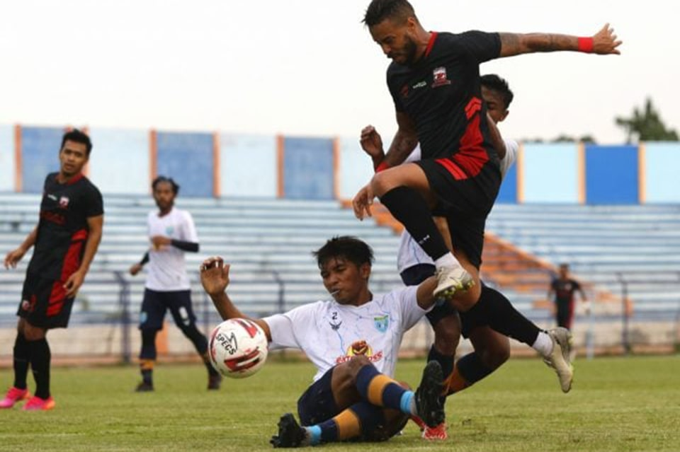 Pelatih Persela Tidak Khawatir Tiga Pemain Asih Belum Gabung Latihan