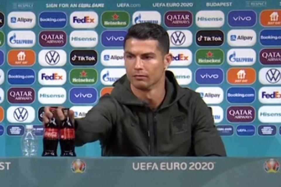 Pesan Ronaldo Jangan Minum Soda, Saham Coca-Cola Langsung Terpuruk