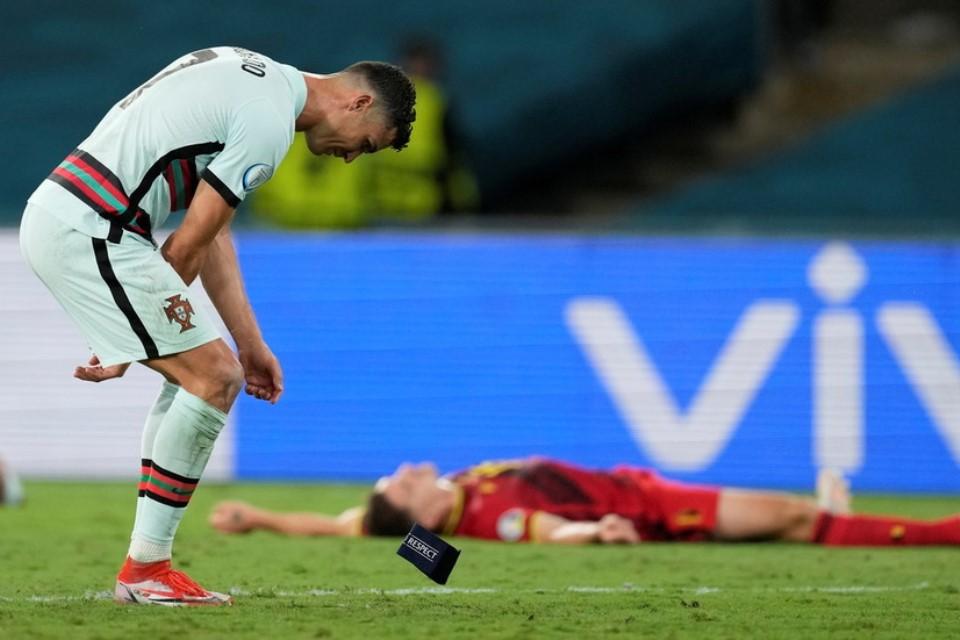 Portugal Out dari Piala Eropa 2020, Ronaldo Banting Ban Kapten