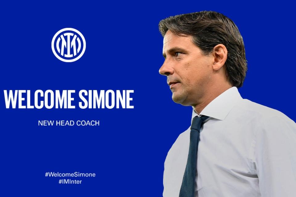 Resmi! Inter Milan Tunjuk Simone Inzaghi Sebagai Pelatih Baru