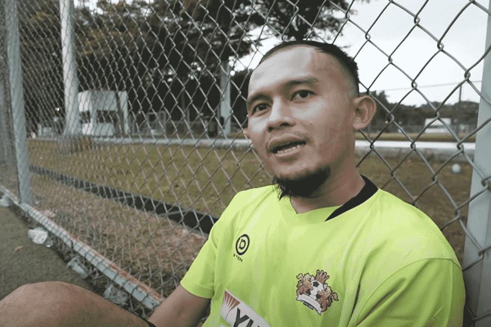 Eks Juru Gedor Persib Ramaikan Laga Persahabatan Selebritis FC