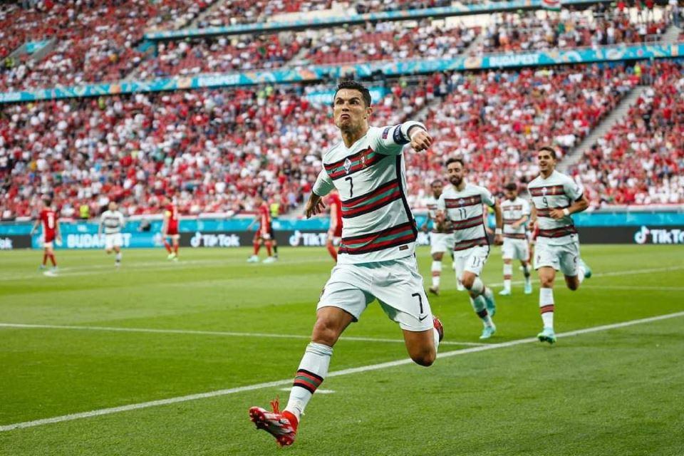 Selebrasi Ronaldo di Laga Kontra Hungaria Seperti Sudah Juara Euro Saja