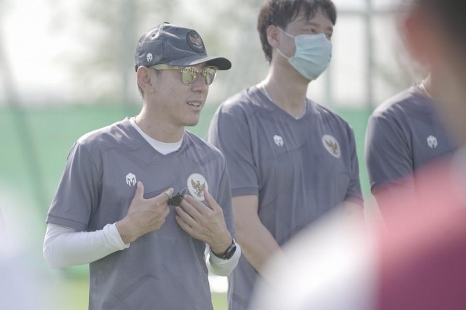 Ditinggal Shin Tae-Yong, Garuda Muda Batal TC