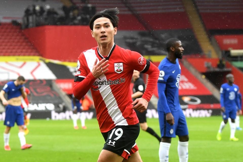 Southampton Tegas Tak Ingin Pulangkan Takumi Minamino ke Liverpool