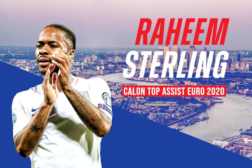 Raheem Steering Bakal Jadi Top Assist di Euro 2020