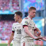 Tak Rayakan Gol ke Gawang Denmark, De Bruyne: Saya Hormati Eriksen