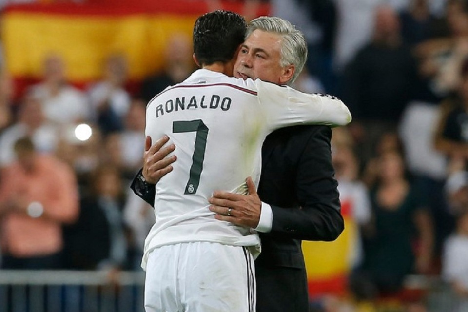Terkait Kepulangan CR7, Ancelotti: Saya Sangat Mencintai Cristiano