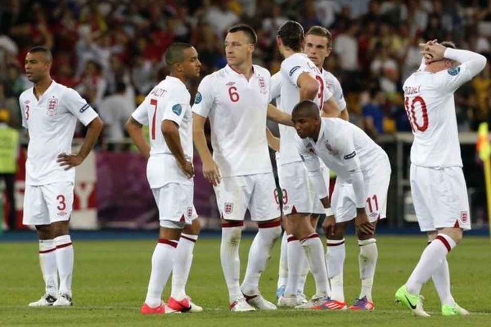 Timnas Inggris Euro 2012