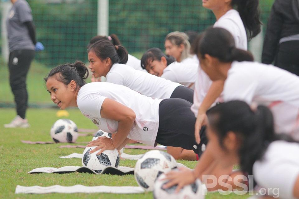 Timnas Wanita Mulai Berlatih, Begini Materi Latihannya