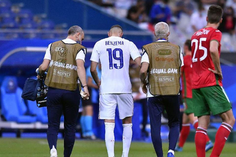 Alami Cedera, Benzema Dikhawatirkan Mentas di Euro 2020?