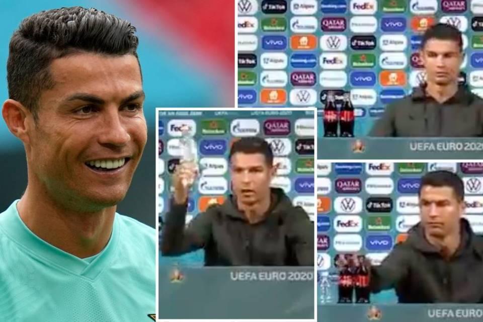 Efek Geser Botol Ronaldo, Saham Coca-Cola Anjlok!