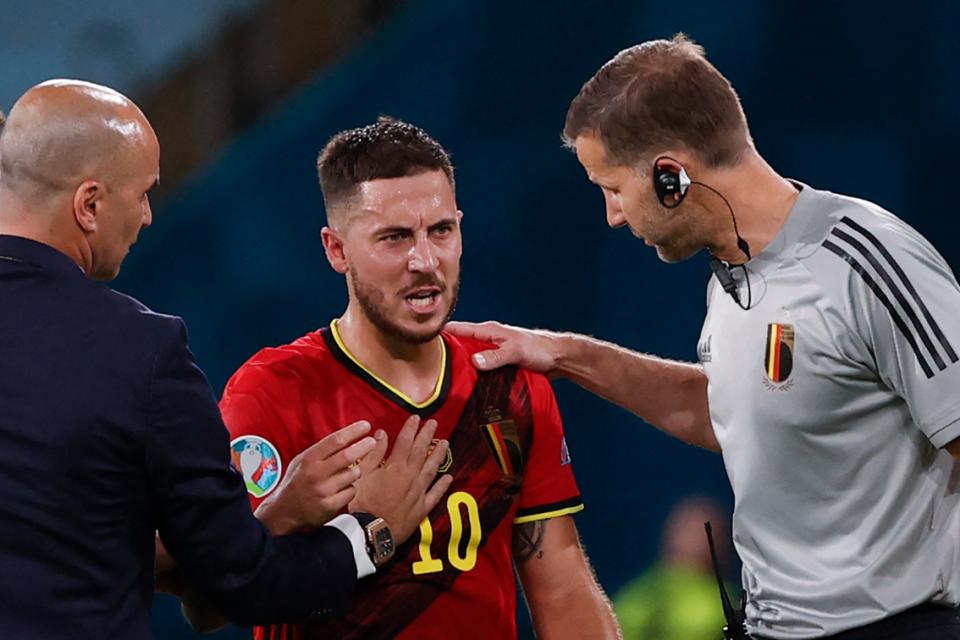 Soal Cederanya Eden Hazard, Courtois Buka Suara
