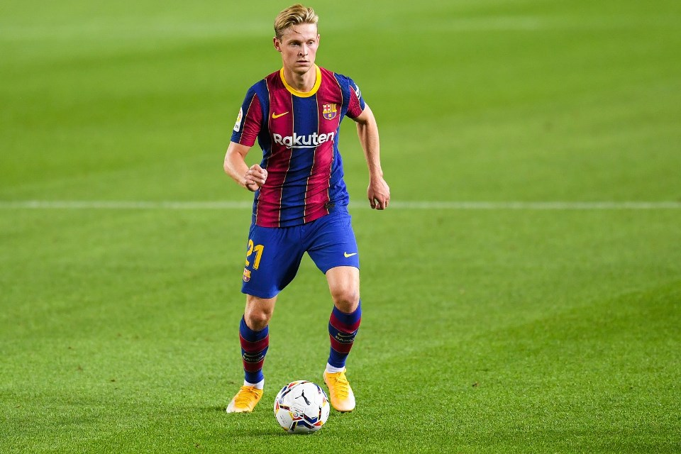 Bukan Messi, Frenkie De Jong Sabet Penghargaan Pemain Terbaik Barcelona