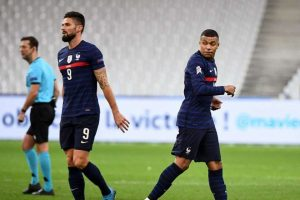 Giroud dan Mbappe Disebut Tengah Alami Konflik Kecil?