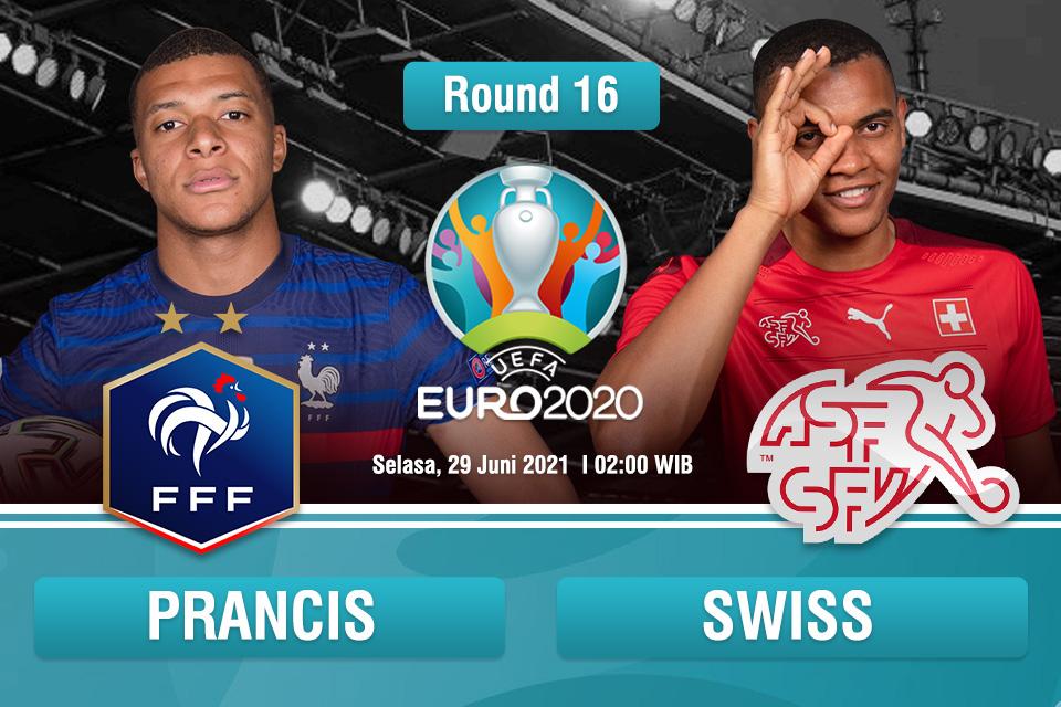 Prediksi Prancis vs Swiss: Perjalanan Swiss Selesai?
