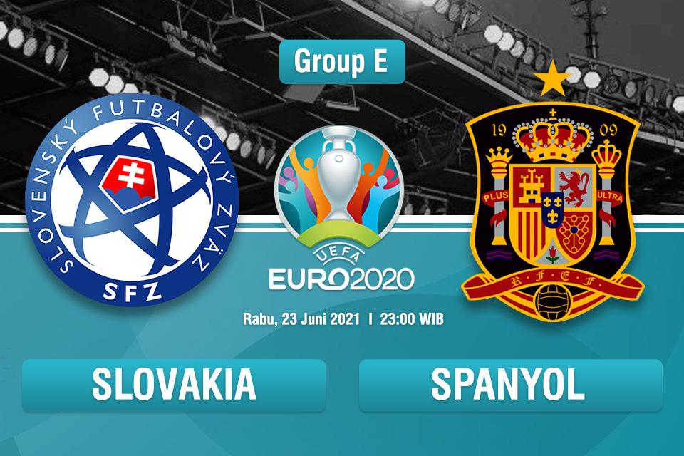 Prediksi Slovakia vs Spanyol: Pembuktian Tuan Rumah