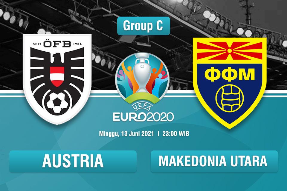 Prediksi Austria vs Makedonia Utara: Menanti Kejutan si Debutan