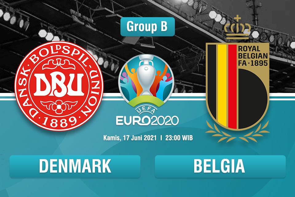 Prediksi Denmark vs Belgia: Belgia Bakal Lolos?