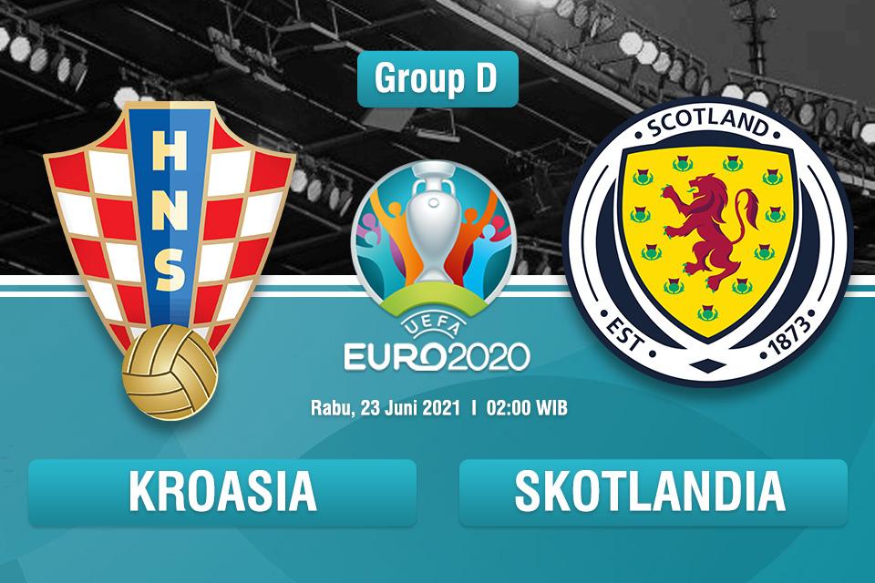 Prediksi Kroasia vs Skotlandia: Misi Comeback Tuan Rumah