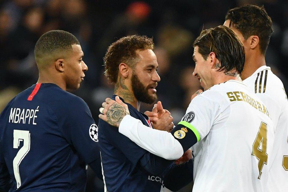Ada Peran Neymar Dibalik Transfer Sergio Ramos ke PSG