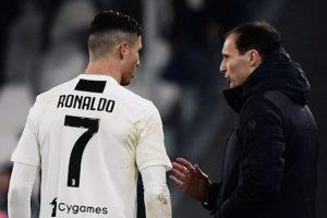 Allegri Butuh Ronaldo Sebagai Panutan bagi Para Pemain Muda