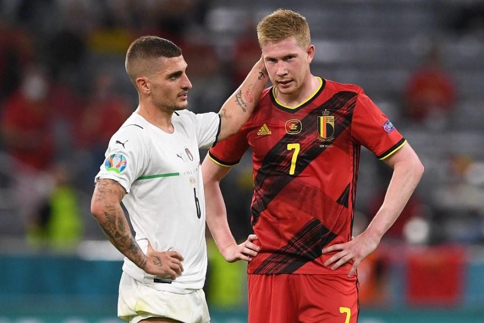 Belgia Out, De Bruyne: Bolanya Tak Mau Masuk ke Gawang ke Italia