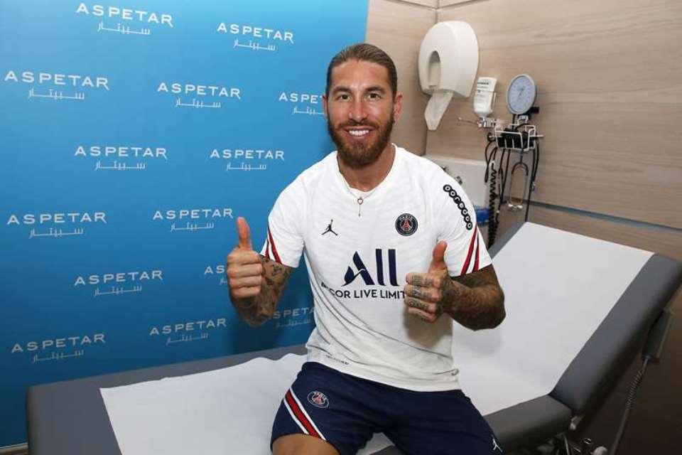 Cedera Betis Kiri, Ramos Absen di Final Piala Super Prancis